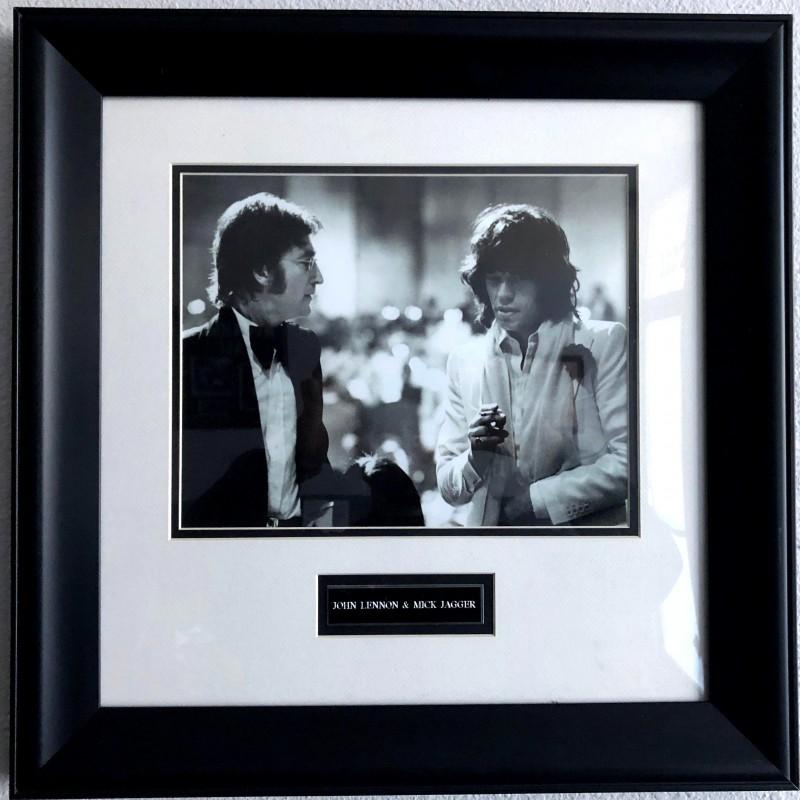John Lennon & Mick Jagger Picture