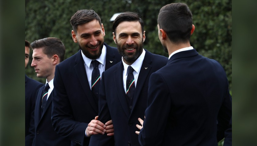 Salvatore Sirigu's Italy National Football Team Trench Coat