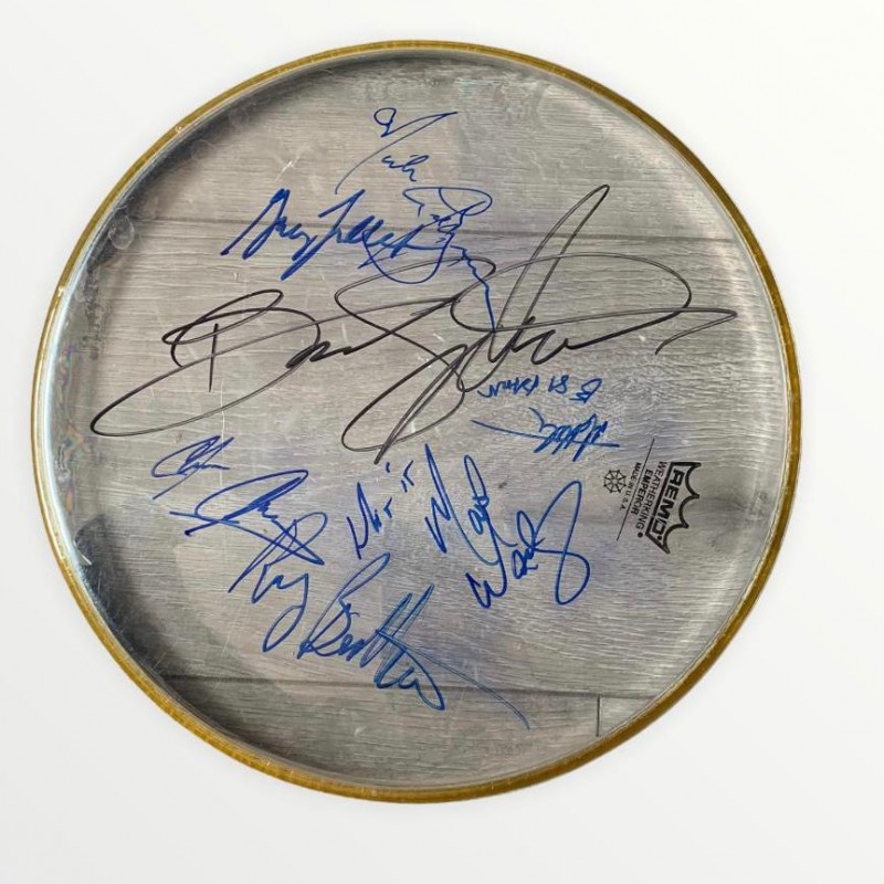 Bruce Springsteen & The E Street Band Signed Drumskin