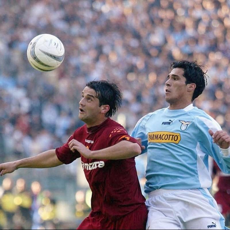Corradi's Match-Issued/Worn Lazio Shirt, Serie A 2003/04