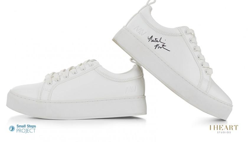 Natalie Portman Signed Shoes