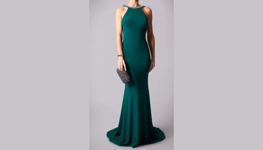 Emerald Green Mascara Dress Donated by Hayley Sparkes