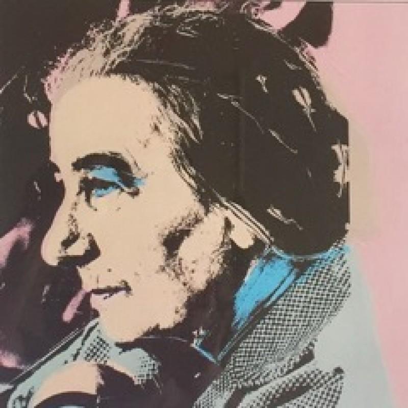 """""""Golda Meir"""" by Andy Warhol"""
