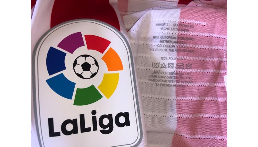 Lemar's Atletico Madrid Match Shirt, Liga 2019/20