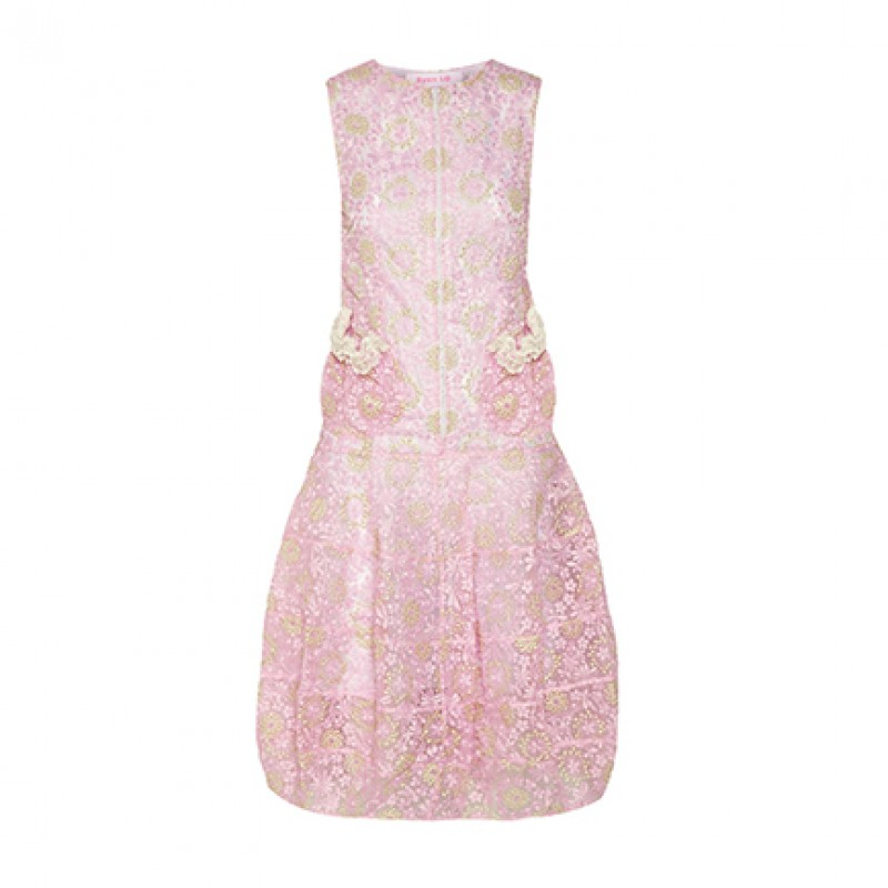 Ryan Lo Embroidered Dress