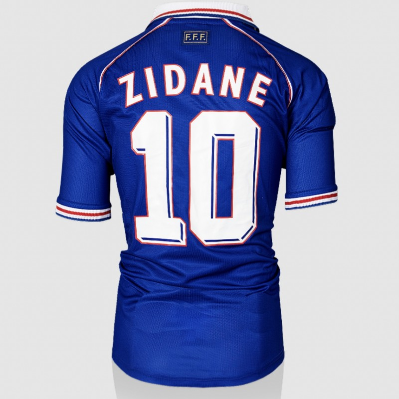 Zidane's France 1998 Shirt