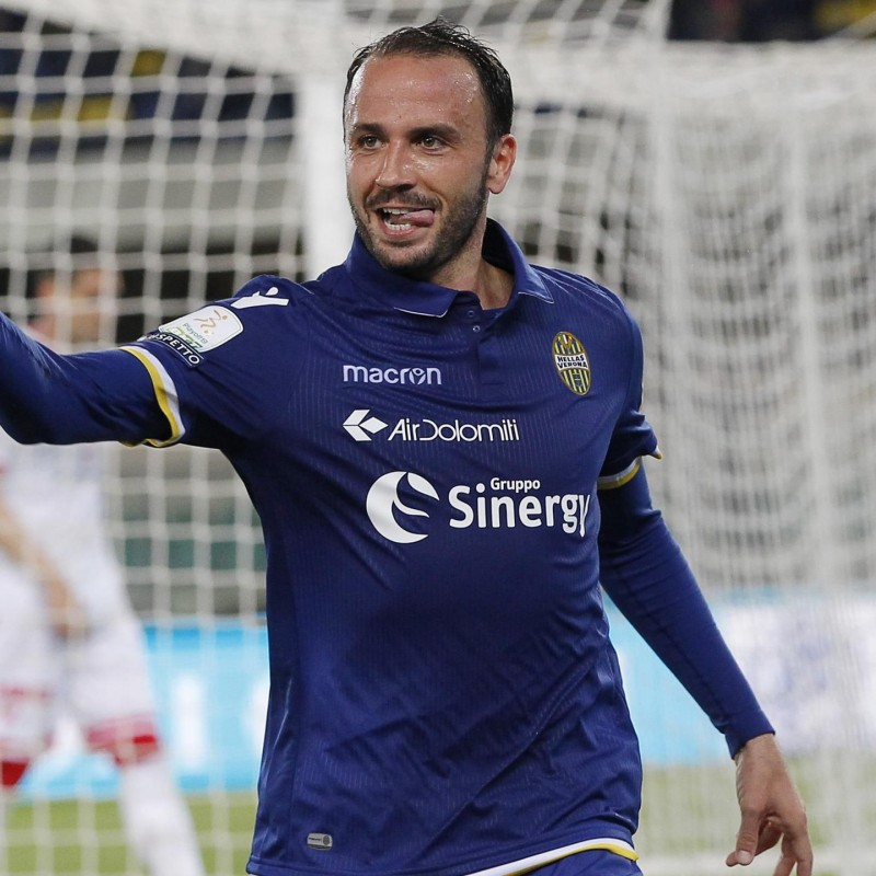 Maglia gara Pazzini Hellas Verona, Serie B 2018/19