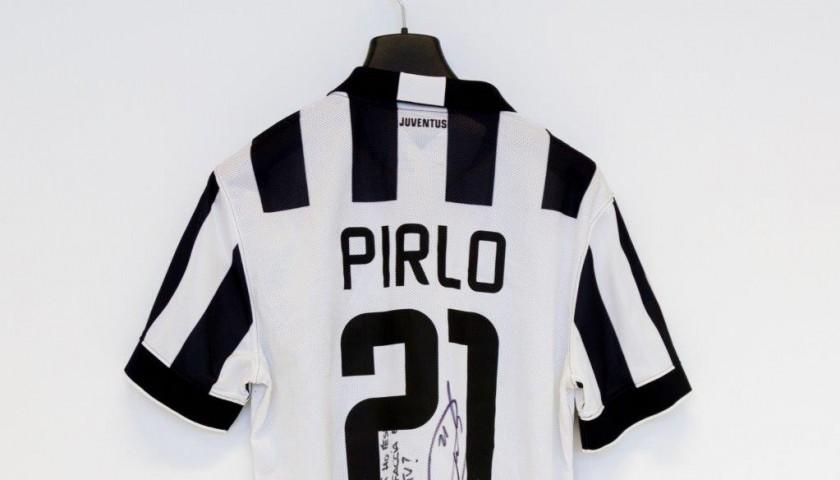 a128a492a Pirlo s Juventus match worn shirt
