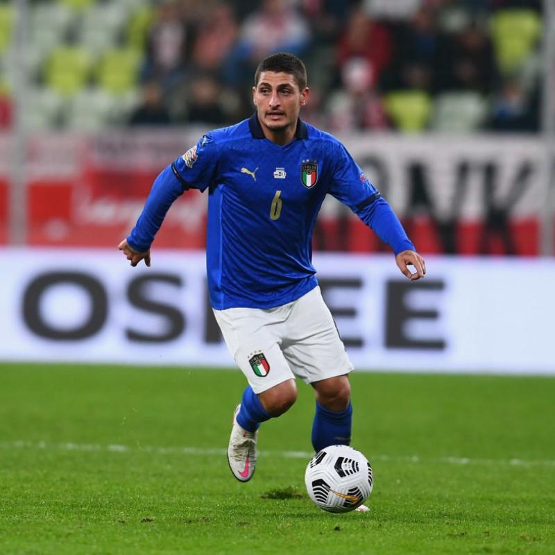 Verratti's Match Shirt, Poland-Italy 2020
