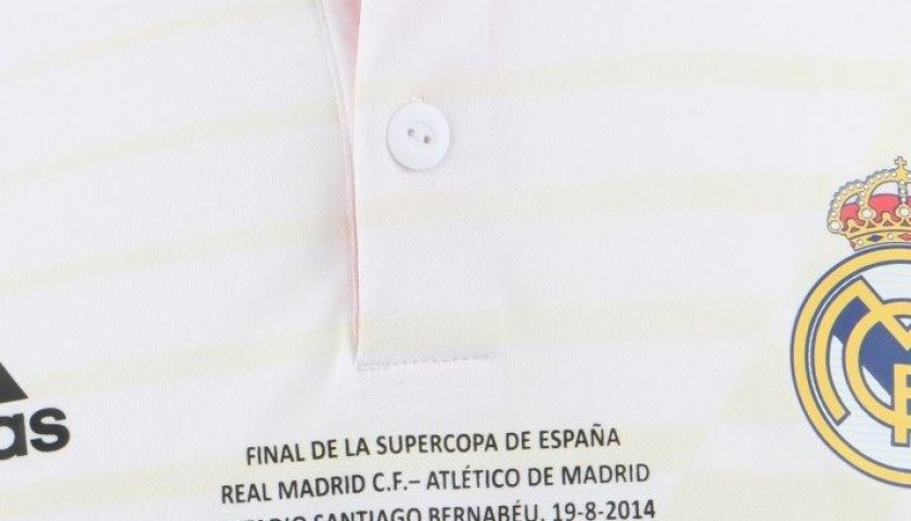 Benzema's R.Madrid shirt, issued/worn Spanish Cup Final 19/8/14