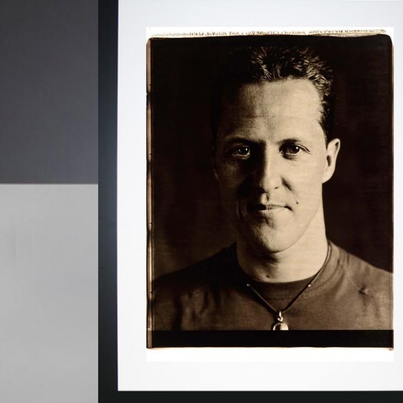 Michael Schumacher Giant Polaroid Portrait Print