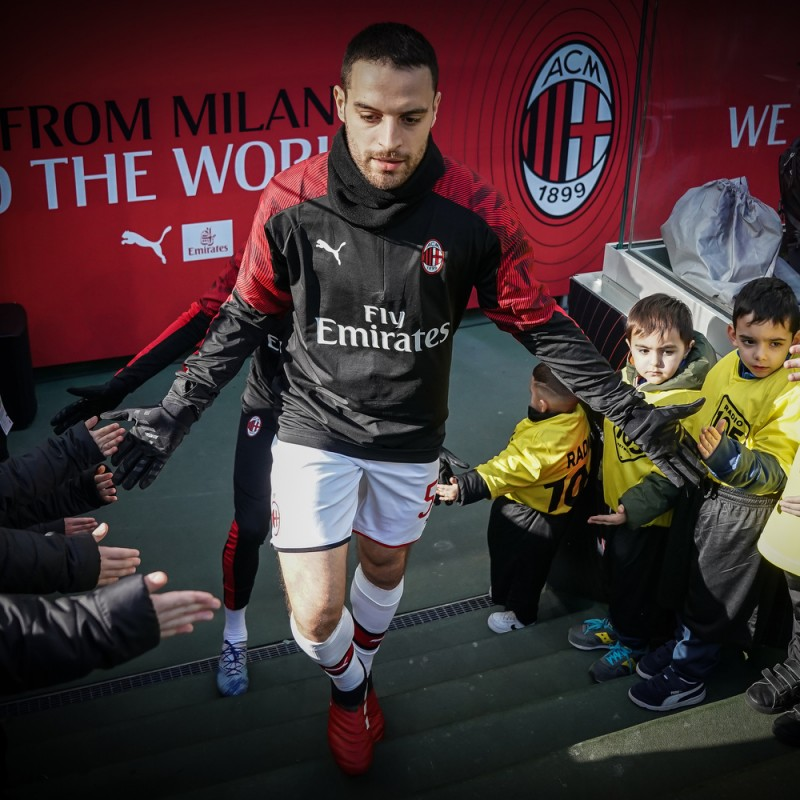 Mascot Experience at the AC Milan-Juventus Match