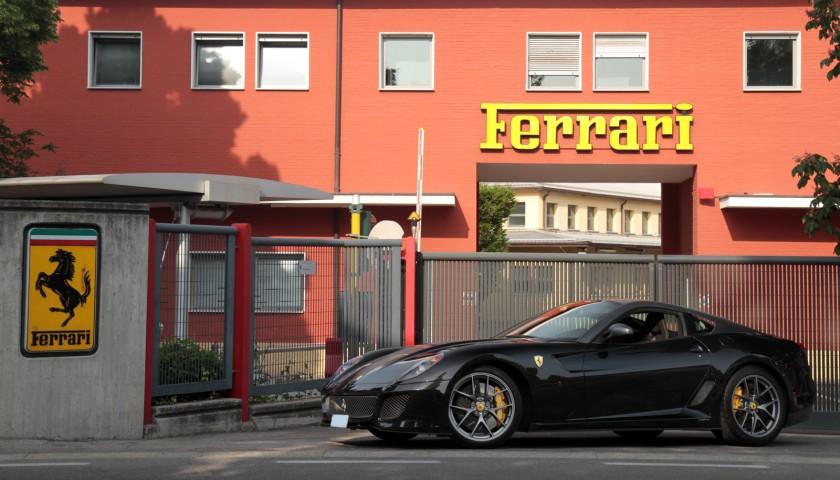 Private Tour Of Ferrari Factory Lunch At Montana Restaurant Charitystars