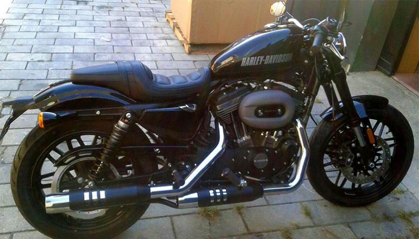 Harley Davidson Signed By Singer Nek