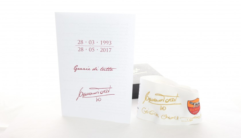 Totti's Limited Edition Captain's Armband, 2016/17