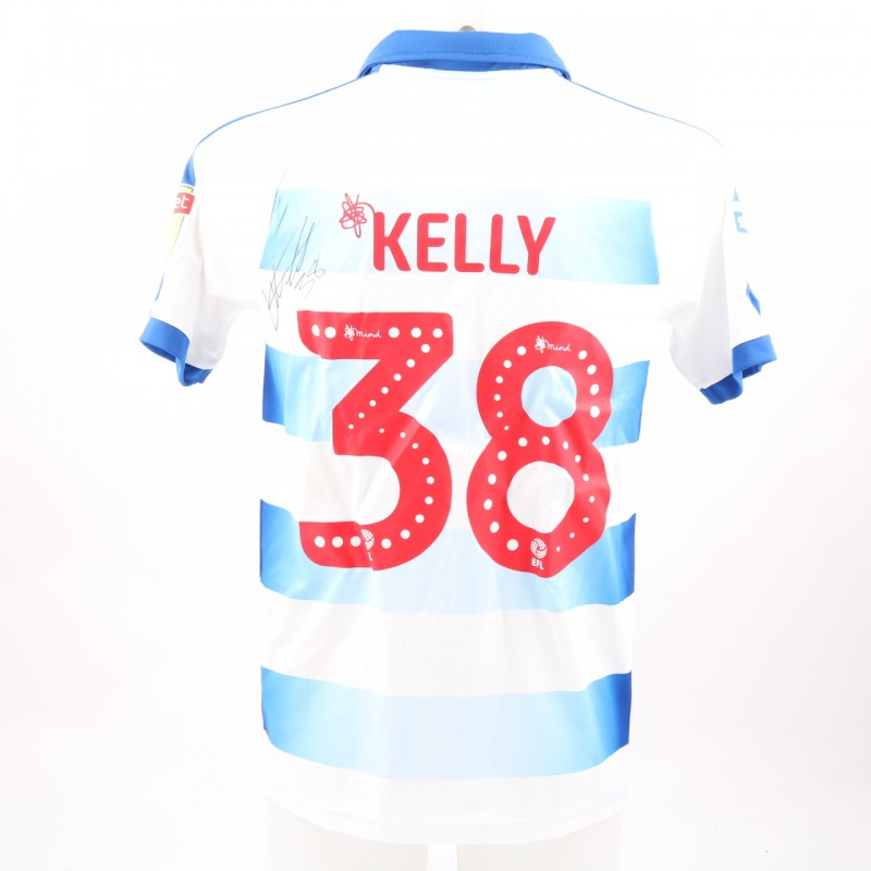Kelly's Match-Worn Reading FC Signed Poppy Home Shirt