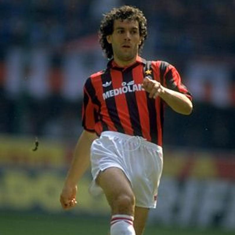Donadoni's Worn Shirt, Milan-Torino 1991