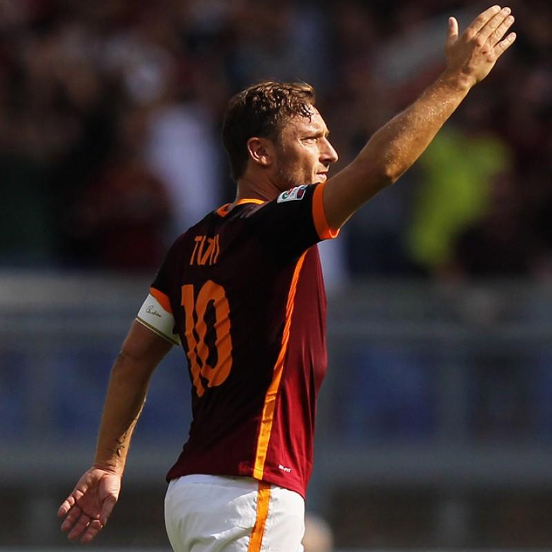 Maglia gara Totti Roma, Serie A 2015/16