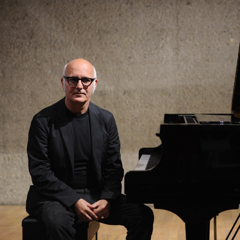 Due music sheets signed by the famous Italian composer and pianist Ludovico Einaudi