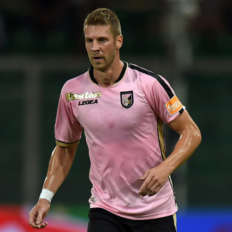 Rajkovic's Palermo Match Shirt, 2018/19 - Signed by the Squad