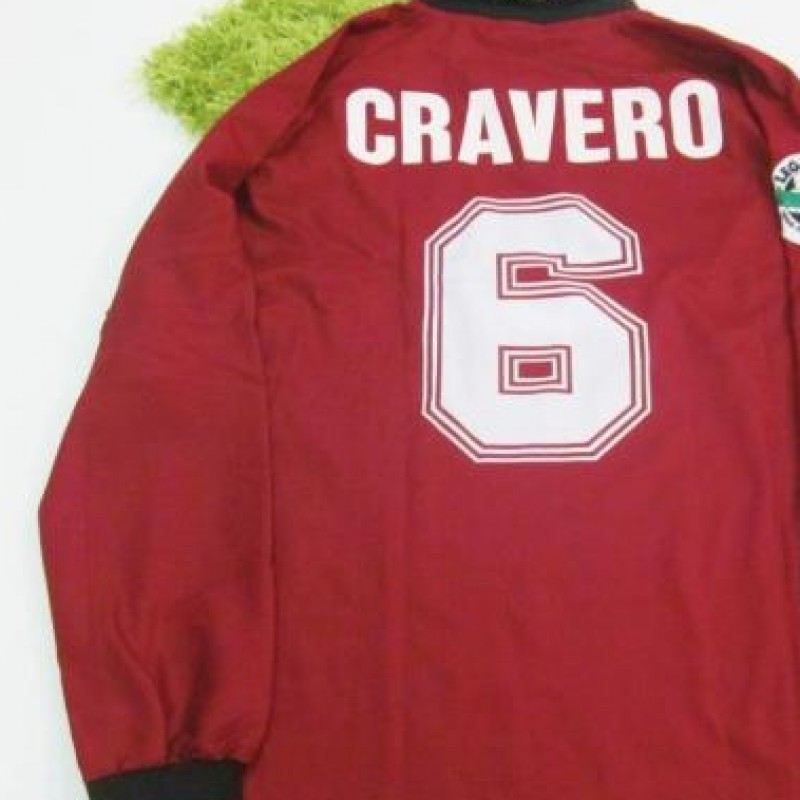 Cravero Torino match issued/worn shirt, Serie A 1996/1997