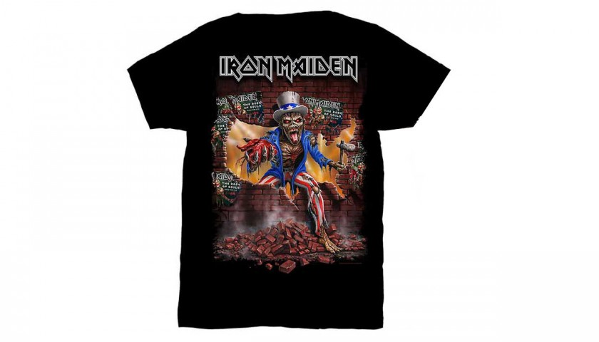 Book of Souls Replica Mask Iron Maiden