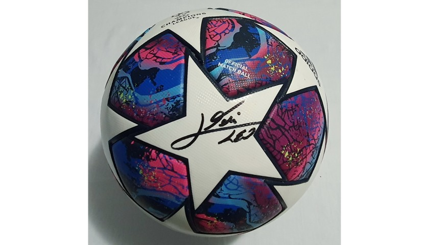 Match-Ball Barcelona-Napoli 2020 - Signed by Messi