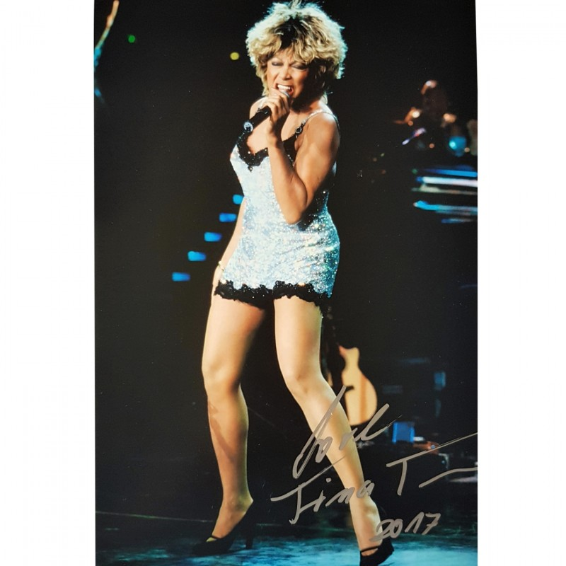 Tina Turner Signed Photograph