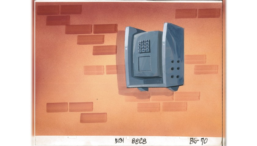 The Simpsons - Painted Background Board