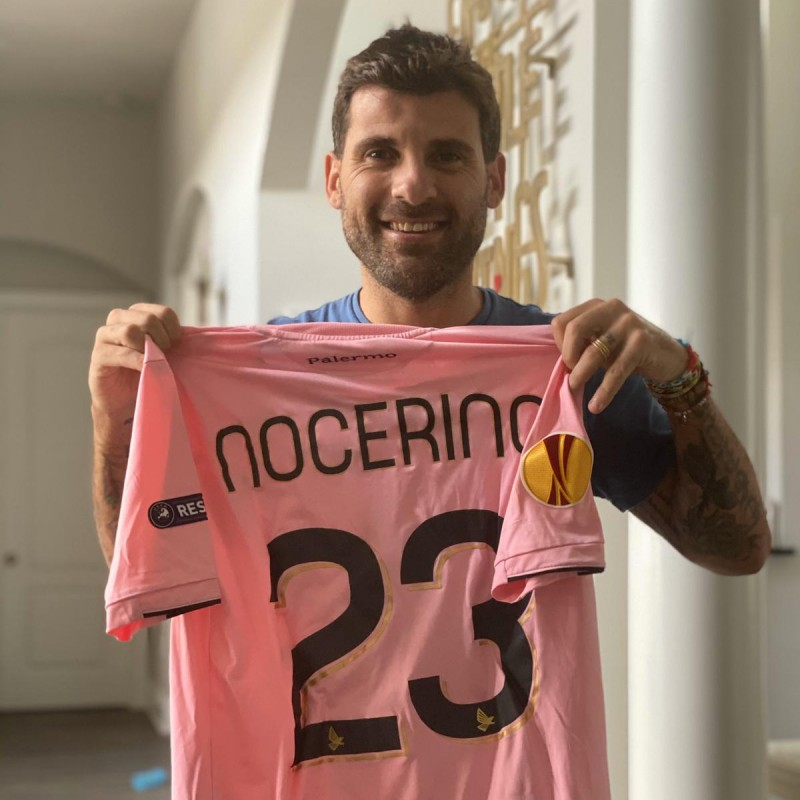 Nocerino's Worn and Signed Shirt, Palermo-Thun 2011