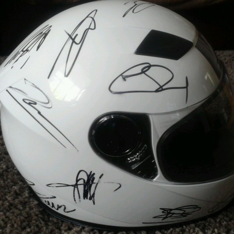 F1 Signed F/S Helmet By 2013 German GP Drivers