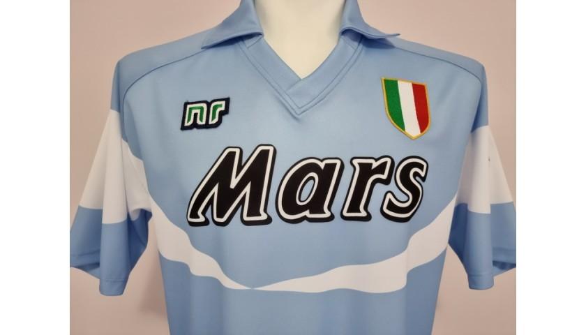 Maradona's Official Napoli Signed Shirt, 1990/91
