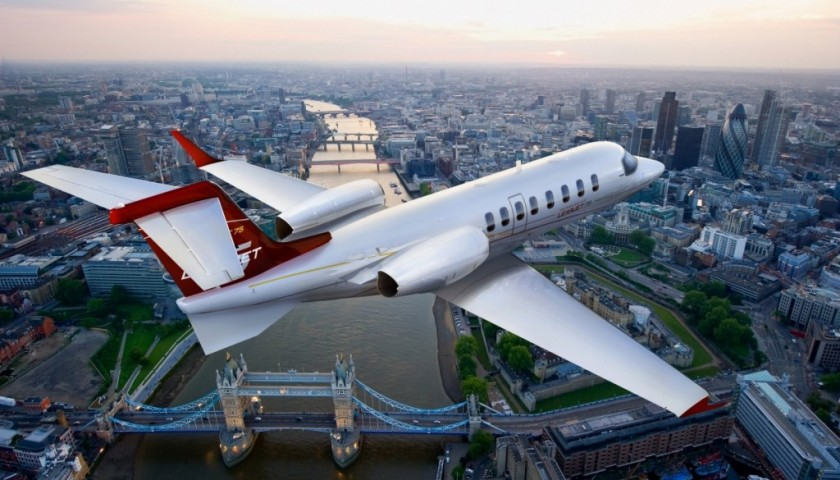 Private Jet to J.P. Gaultier's Couture Show in Paris