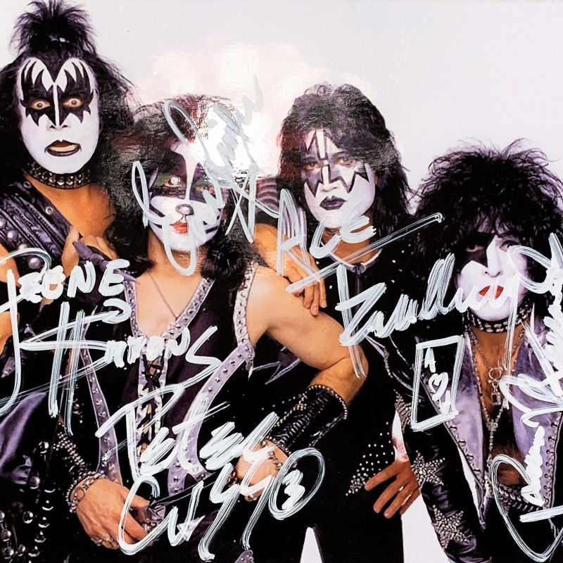 Photograph Signed by Kiss