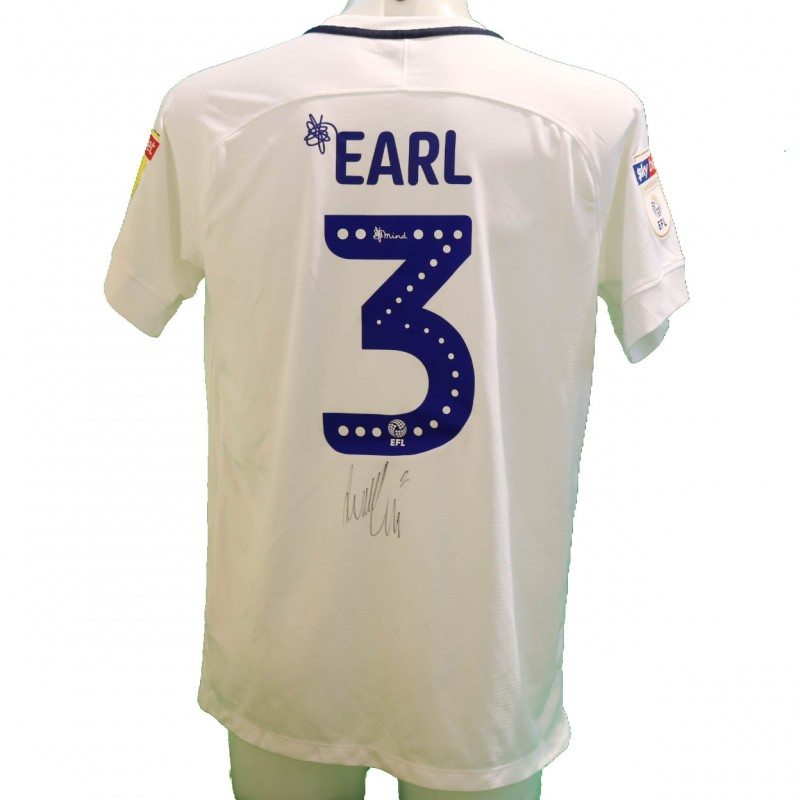 Earl's Preston Worn and Signed Poppy Shirt