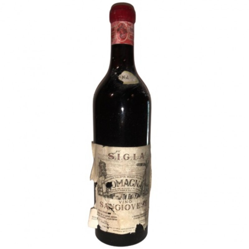 Bottle of Sangiovese, 1961- S.I.G.L.A