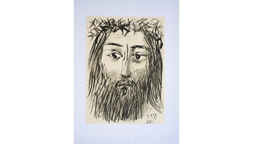 "Pablo Picasso's Lithograph ""Toro y Toreros"""
