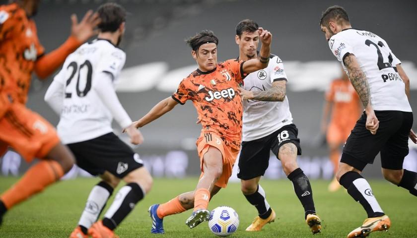 Match-Ball, Spezia-Juventus 2020 - Signed by Ronaldo and Dybala