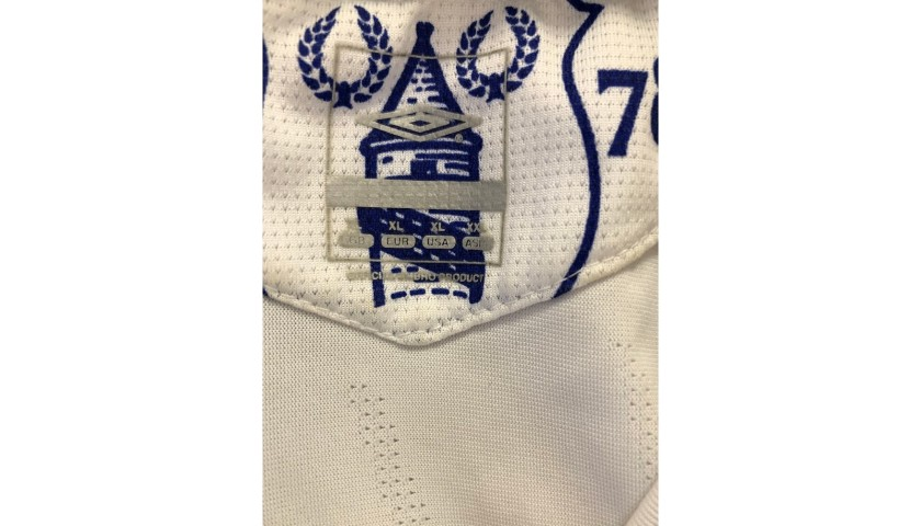 Arteta's Everton Match Worn Shirt, 2006/07 - Unwashed