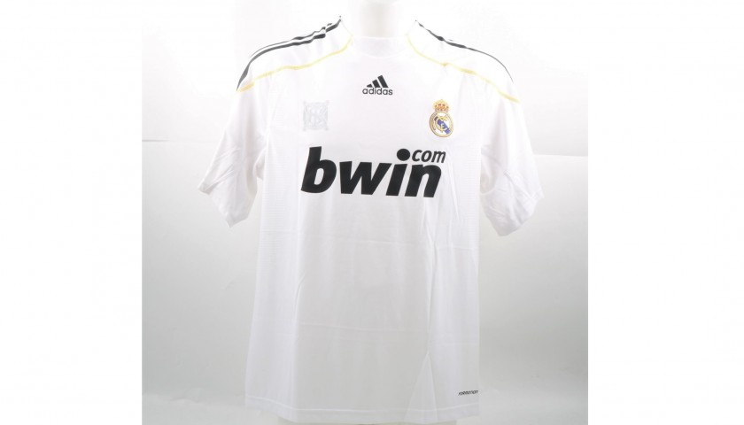 06a793dfc17 Ronaldo s Match-Issued Worn Real Madrid Shirt