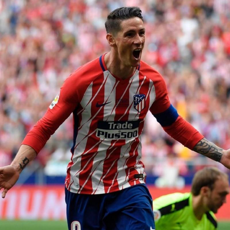 Torres' Match-Issue Shirt, Atletico Madrid-Eibar - Last Match