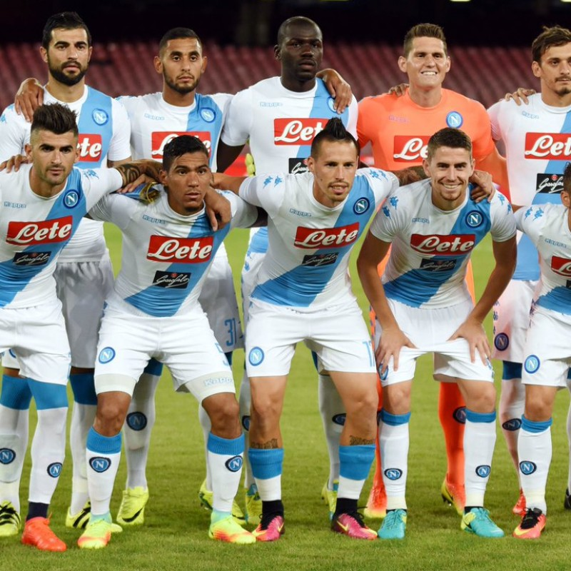 Official Napoli Shirt, 2016/17 - Signed by the Squad