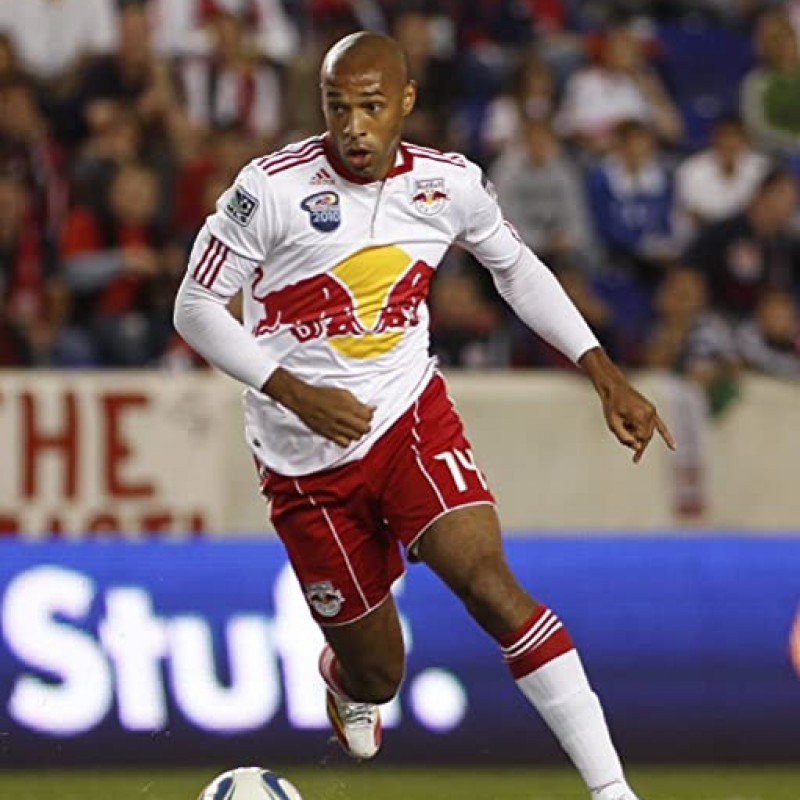 Henry's Official New York Red Bulls Signed Shirt, 2014