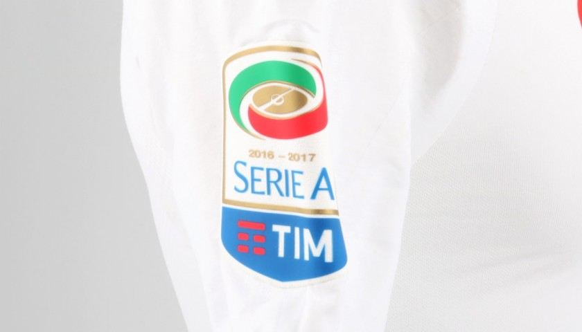Hamsik's Worn Shirt, Sampdoria-Napoli - Special UNICEF Patch