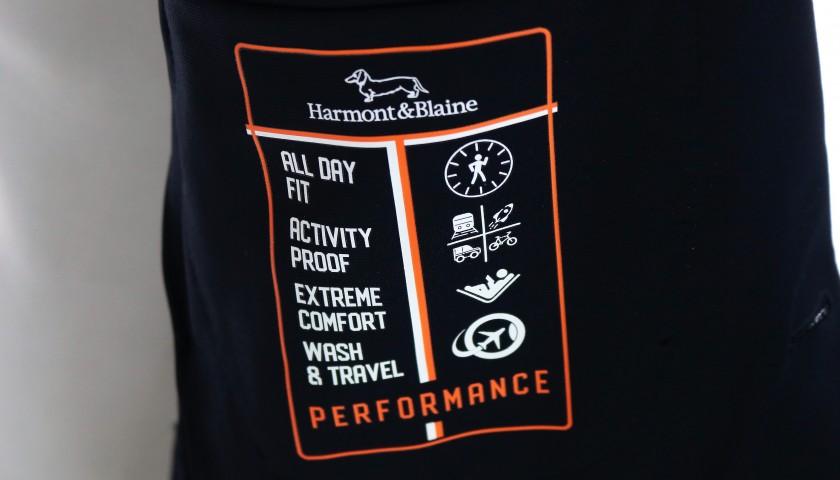 Harmont & Blaine Single-Breasted Travel Blazer