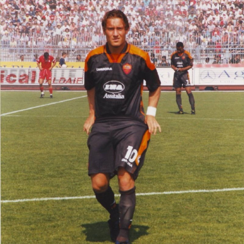 Totti's Official Roma Signed Shirt, 1997/98