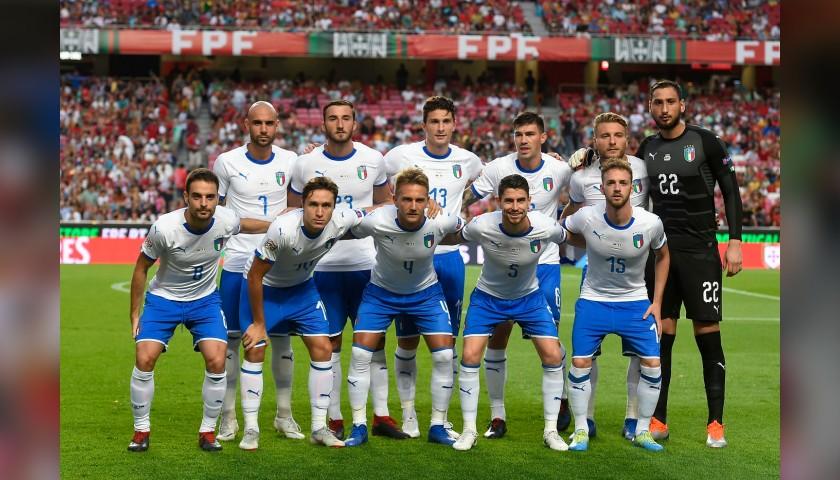 Donnarumma's Match Shirt, Portugal-Italy 2018