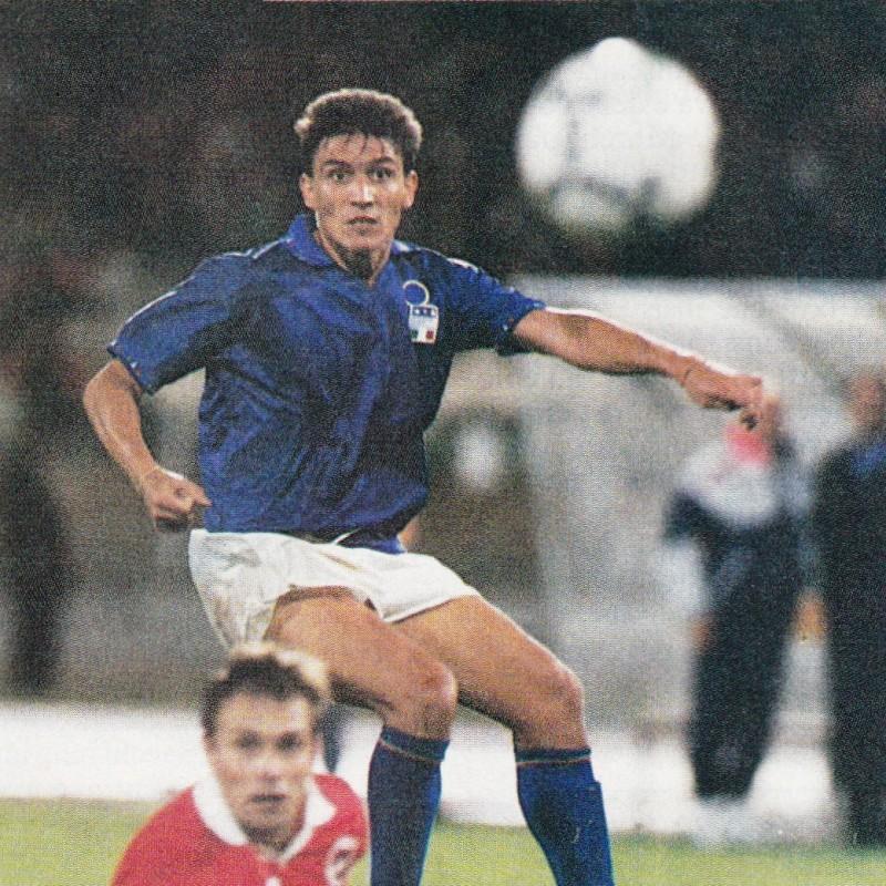 Eranio's Italy Match Shirt, 1992/94