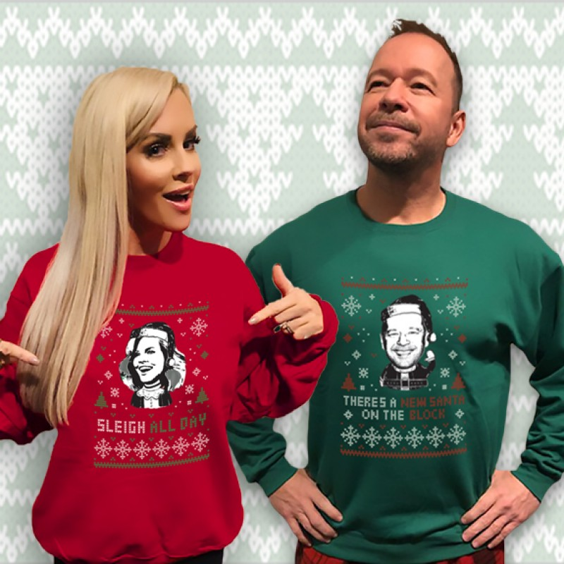 "Donnie + Jenny's ""Cozy Holiday Sweaters"""