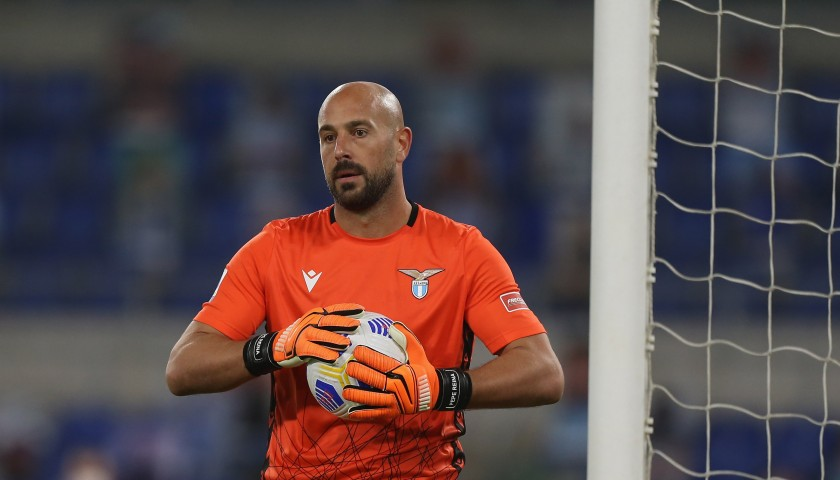 Reina's Worn and Unwashed Shirt, Crotone-Lazio 2020